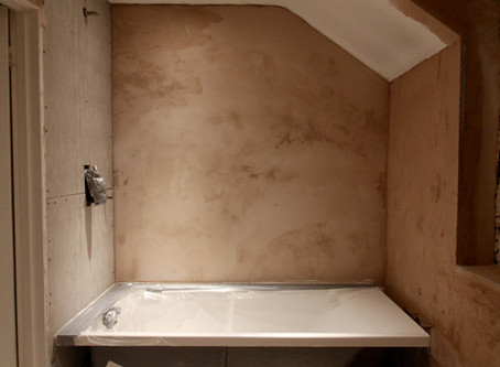 Our ensuite bathroom makeover - halfway point