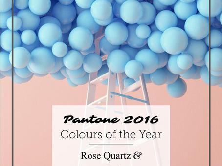 Colour Trends - Pantone 2016