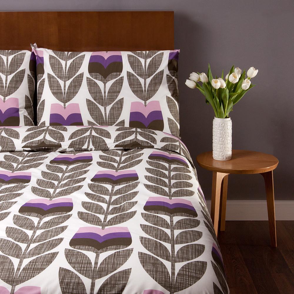 Bedroom: new linen collections for SS17 Orla Kiely Rosebud