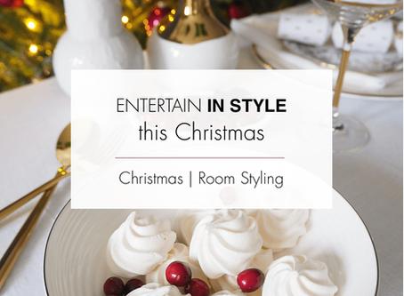 Christmas - time to entertain