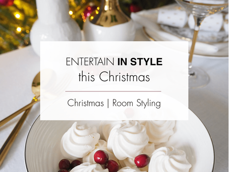Christmas - time to entertain