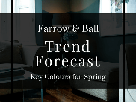 Spring 2017 colours from Farrow & Ball
