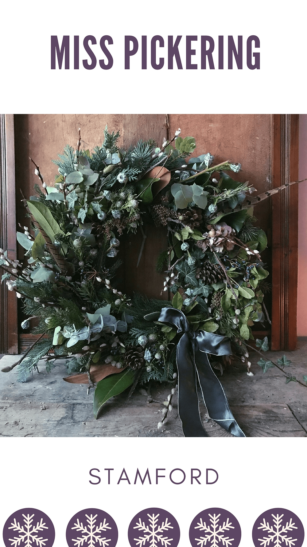 Miss Pickering Christmas Wreath