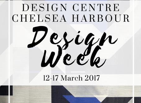 Design Week 2017 at Design Centre Chelsea Harbour
