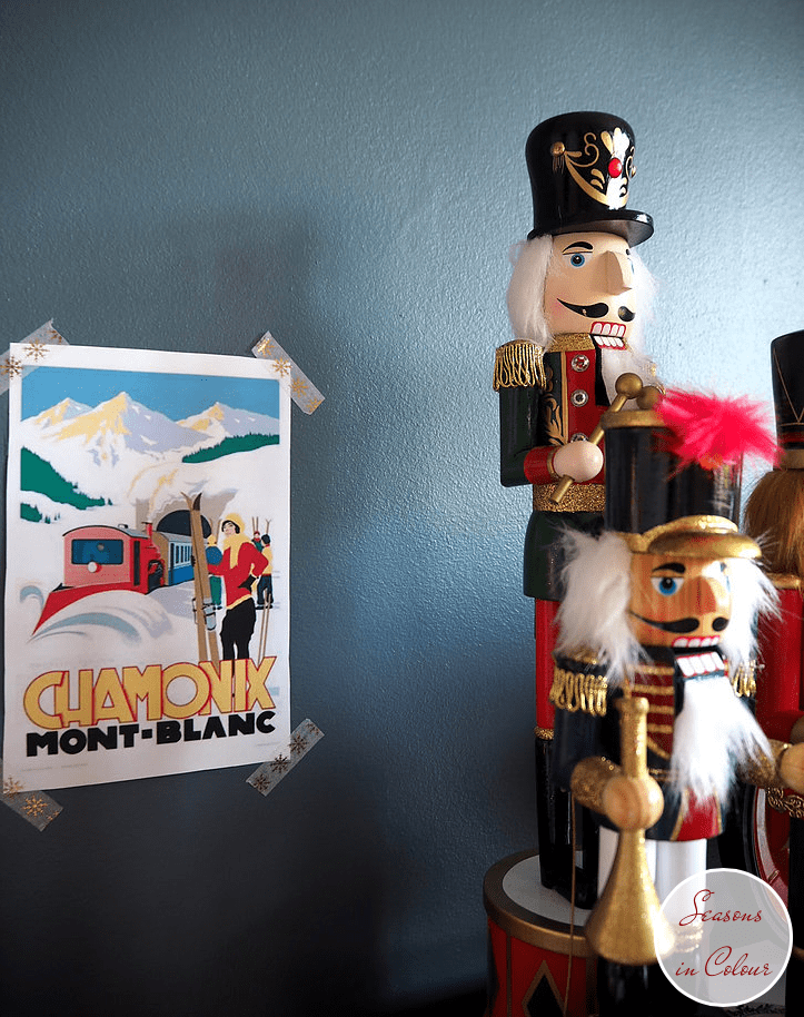 Junior Bedroom Christmas Styling Nutcrackers and Dulux Steel Symphony 1