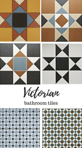 victorian tile patterns and designs bathroom
