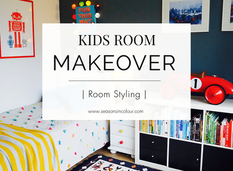 Makeover - Boy's room