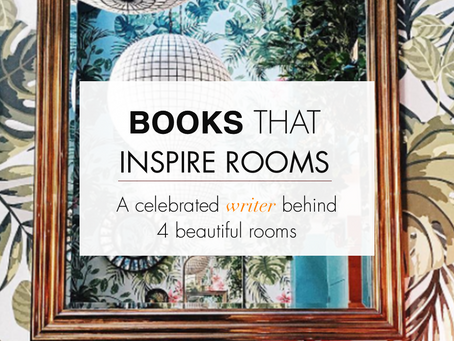 Books that inspire rooms