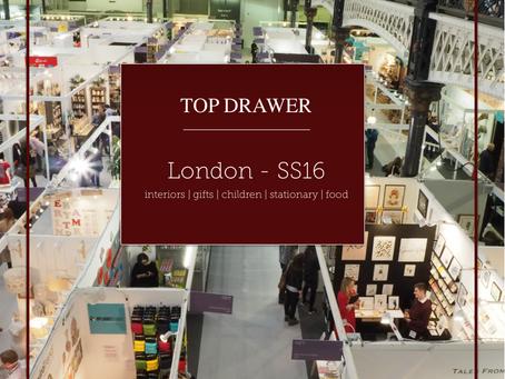 Top Drawer London SS16