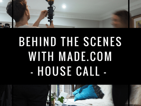 Go Dark with Made.com | Home shoot