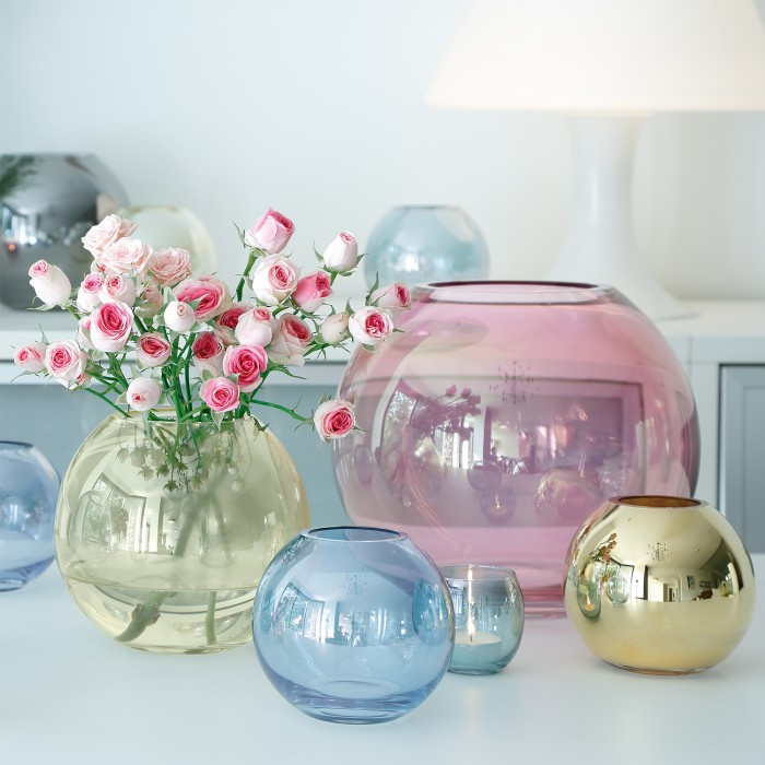 pastel vases by LSA International