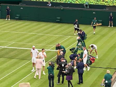 visit to Wimbledon