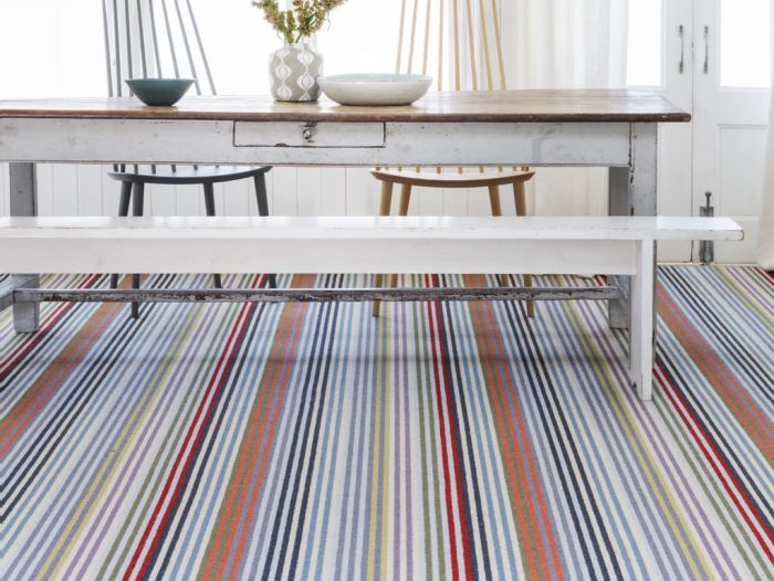 How You Can Save Money On Premium Flooring _ Seasonsincolour margo-selby-designer-striped-carpet-frolic-westbrook