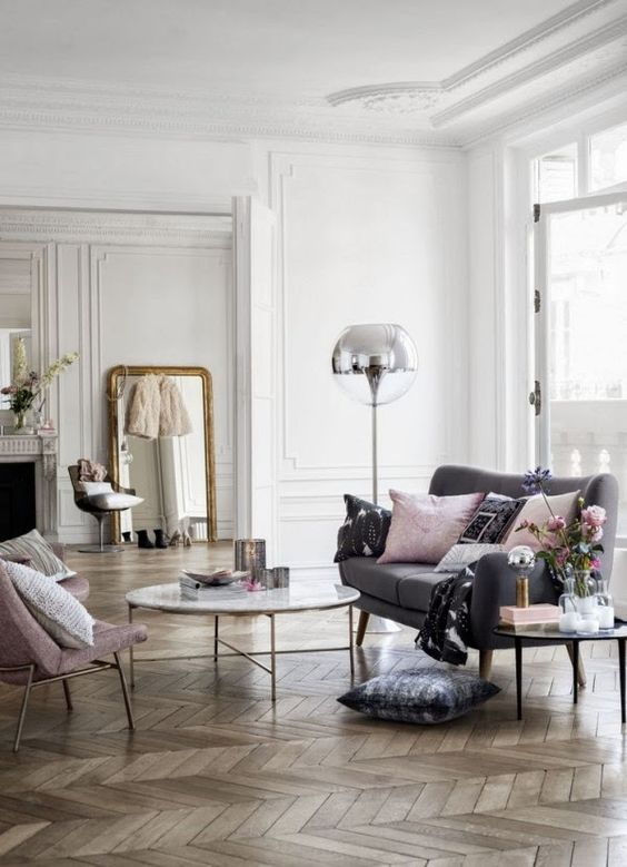 Interiors Styles Modern French