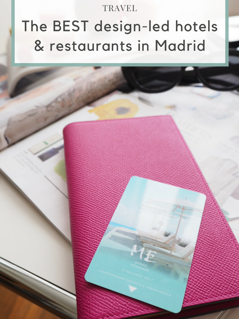 The best design-led hotels and restaurants in Madrid