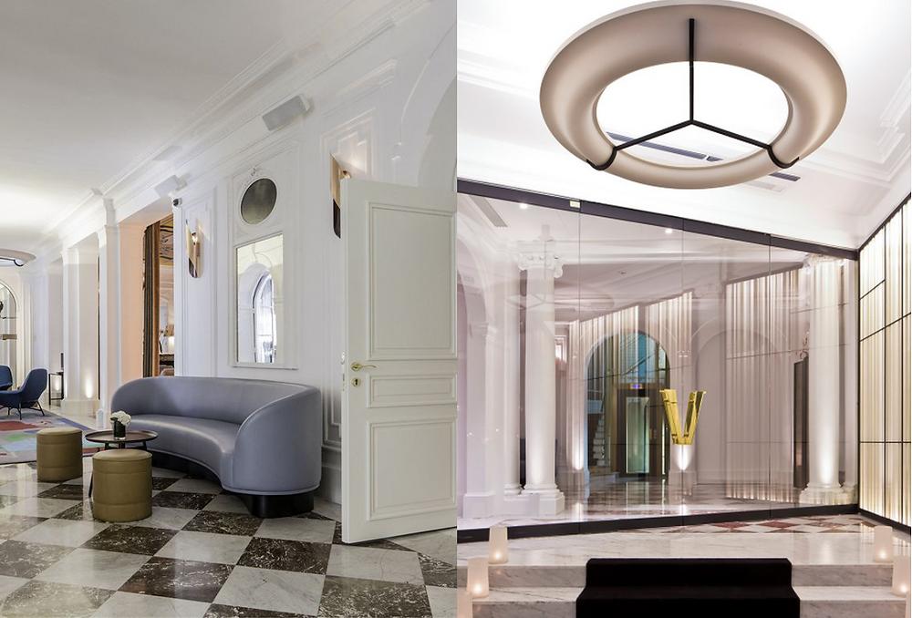 Hotel Vernet lobby