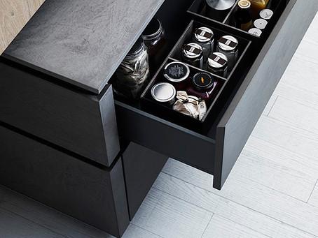 Kitchen design - elegant materials