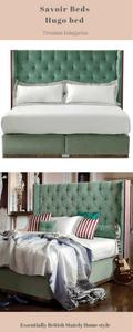 Luxury bed makers designer beds Savoir the Hugo