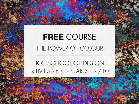 Free KLC Course - The Power of Colour