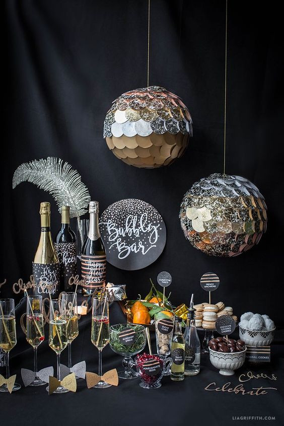 What to serve in a New Year's Eve party