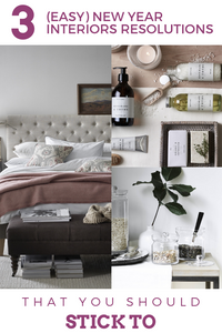 Easy win interiors New Year Resolutions