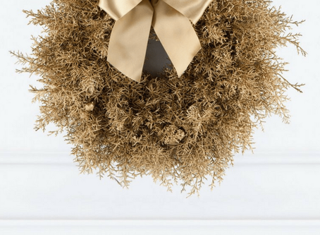 The UK's most beautiful Christmas Wreaths