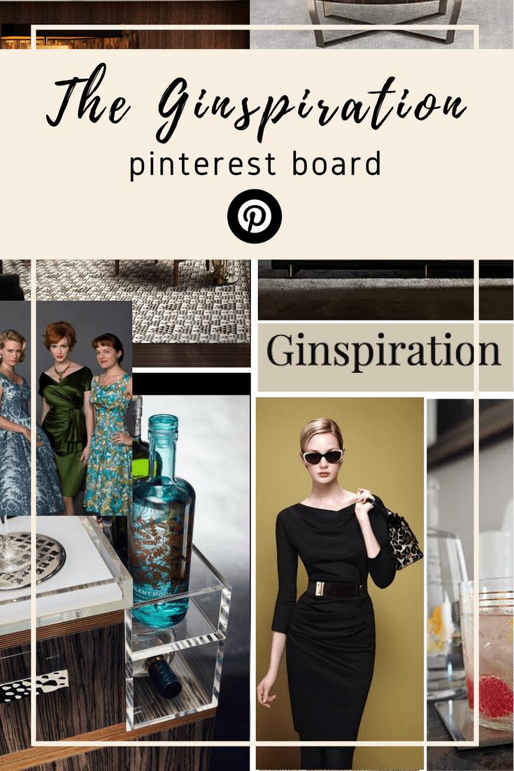 Ginspiration Pinterest Board Mid century luxury decor