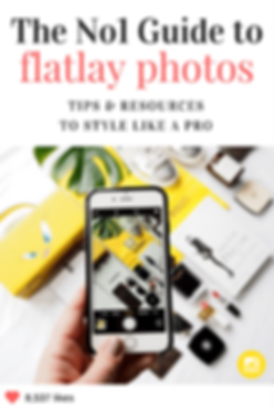 Best tips for flatlay photos