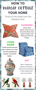 Prints Charming is the new interiors book by John Loecke and Jason Oliver Nixon go by the brand name Madcap Cottage. Here's how to get their style in your home with bold colours  patterns. Fun and eclectic