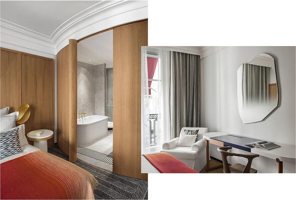 Hotel Vernet bedroom
