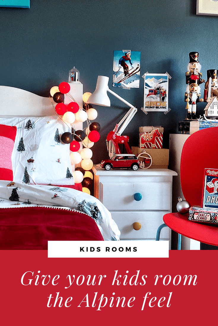 Junior Bedroom Christmas Styling