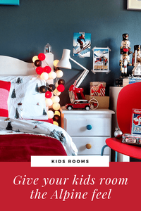 Junior Bedroom Christmas Styling
