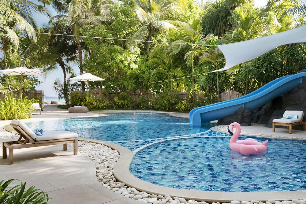 cheval blanc randheli maldives pool
