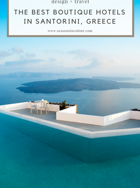 The Best Boutique Hotels in Santorini, Greece