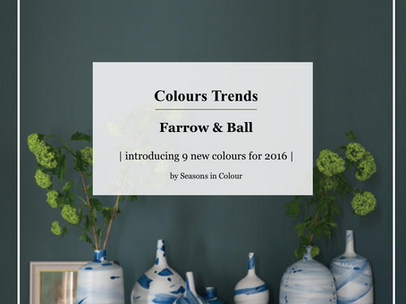 Farrow and Ball new Colours