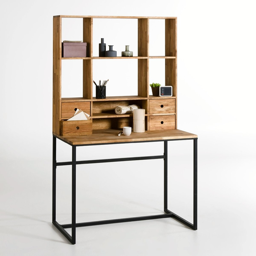 teenager room decor industrial style work station