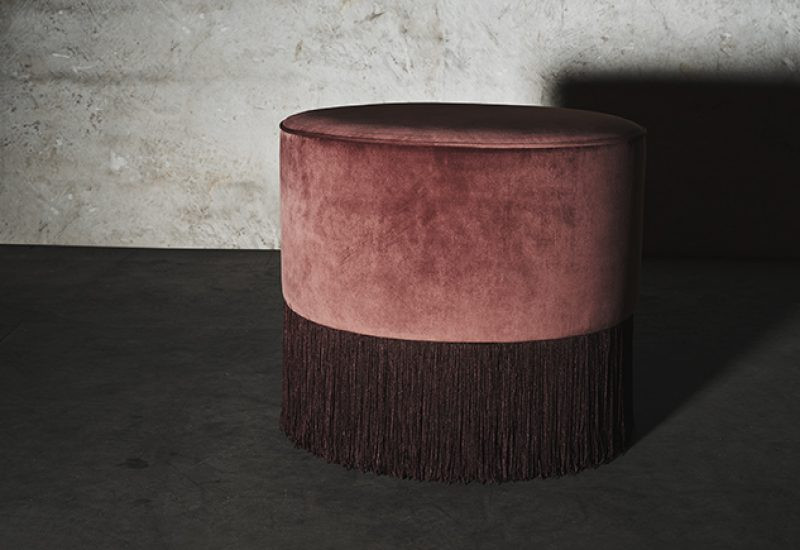 LAYERED a Swedish interior brand fRENCH pOUF FRINGE