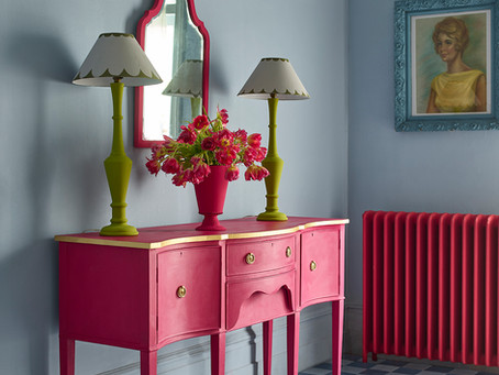 2021 Colour Trends for eclectic and fun interiors - Capri Pink