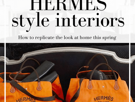 HERMES style interiors