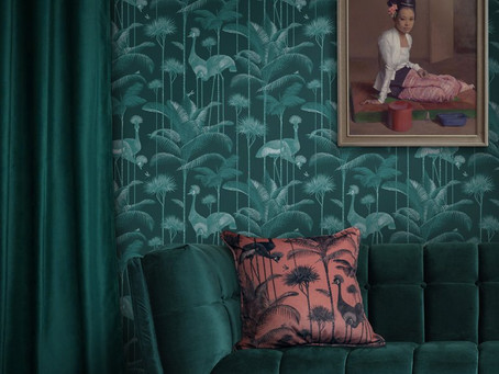 11 Bold Print Wallpapers we LOVE