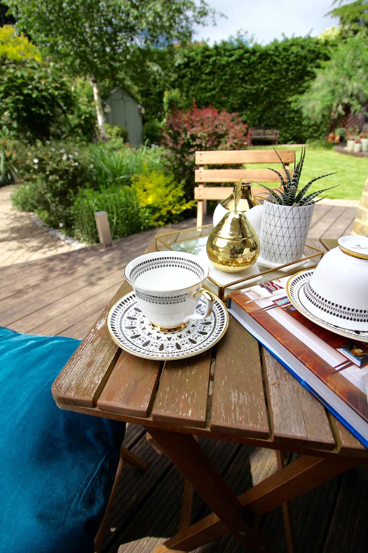garden furniture eclectic