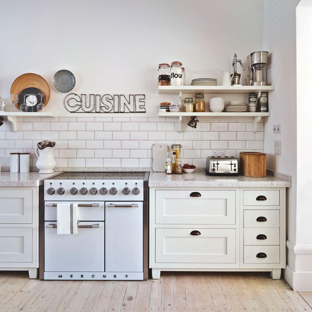 20 White Kitchen Design Ideas white cabinets in kitchen with metro tiles