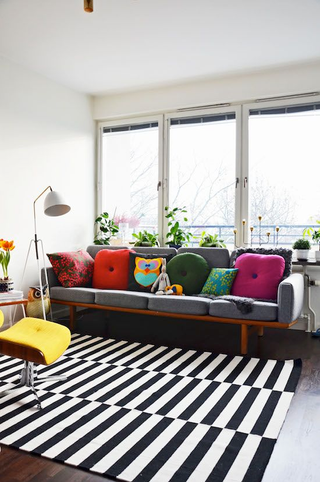 How To Decorate With The Ikea Stockholm Rug