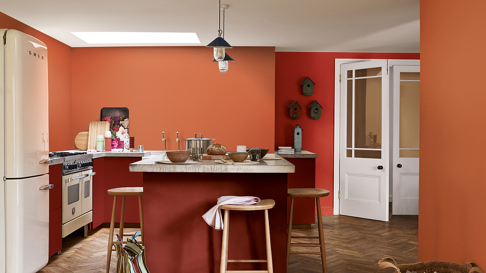 Spiced Honey is the Dulux Colour of the Year 2019