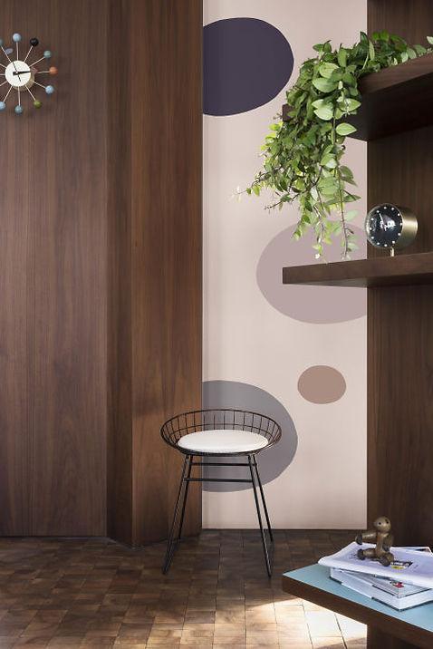 DULUX Heart Wood wall living room decor