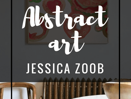 Abstract Art at home with Jessica Zoob