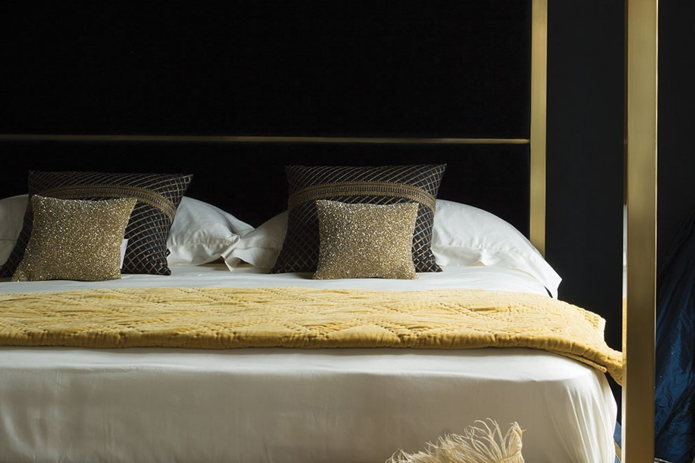 Luxury bed makers designer beds And so to Bed Hoxton bed