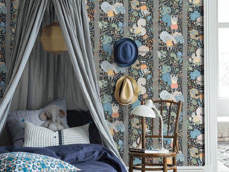Fairytale wallpaper for kids bedrooms
