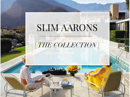 Tribute: A is for Slim Aarons (iconic designs series)