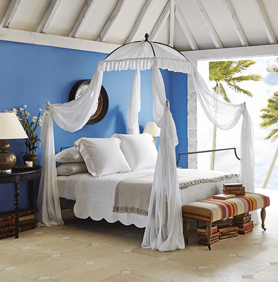 Luxury bed makers designer beds OKA TUVALU